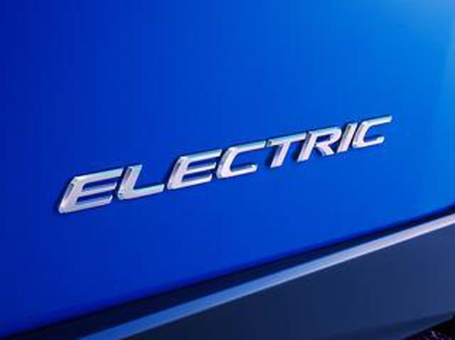 """画像: レクサス初の市販EVを広州モーターショーで世界初公開へ。車名は""""レクサスUX300e""""か?"""