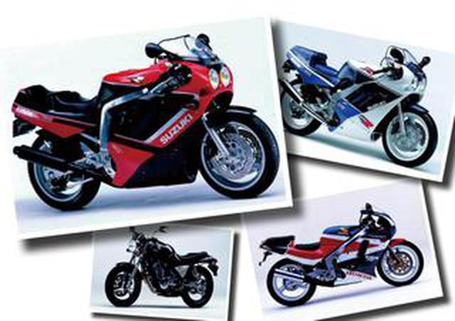 画像: GSX-R750、GSX-R400SPなどスズキのスーパースポーツが大人気に!【日本バイク100年史 Vol.043】(1988-1989年)<Webアルバム>