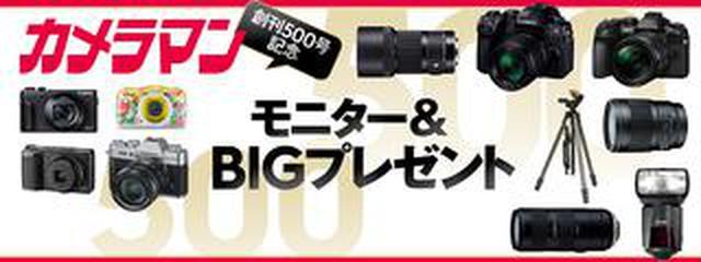 画像: 本誌創刊500号記念 モニター報告 第三弾! キヤノン・シグマ・ニコン・リコー