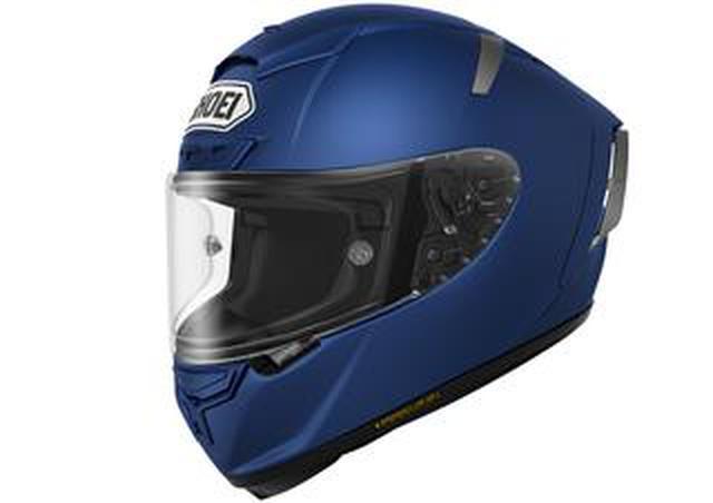 画像: SHOEIのフルフェイス・ヘルメット「X-Fourteen」にブルーとグレーのソリッドカラーが追加ラインナップ、計5色の展開に!