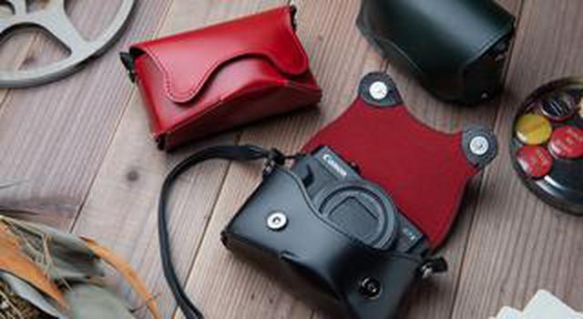 画像: キヤノンPowerShot G7 X Mark II, Mark III用 本革ケース「オルフェ02」が12月7日に新発売