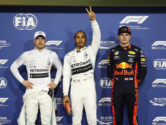画像: F1第21戦アブダビGP予選、ハミルトンが久々のポール、フェルスタッペンはフロンロウから決勝スタート【モータースポーツ】