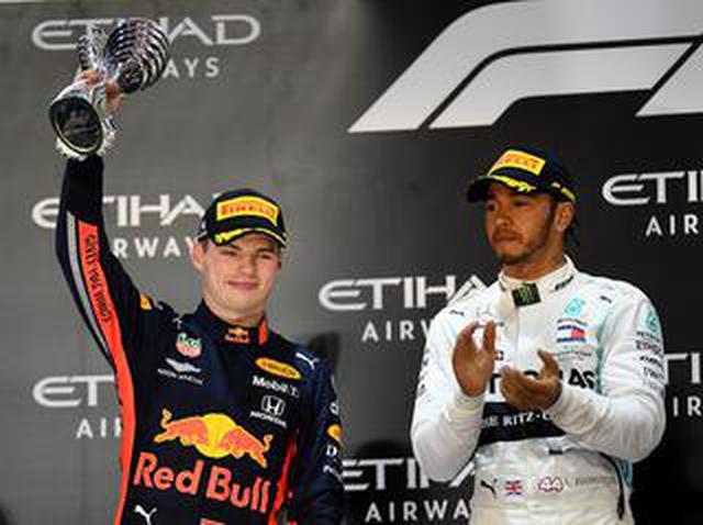 画像: F1第21戦アブダビGP、ハミルトン貫禄のポールトゥウィン、フェルスタッペンは2位【モータースポーツ】