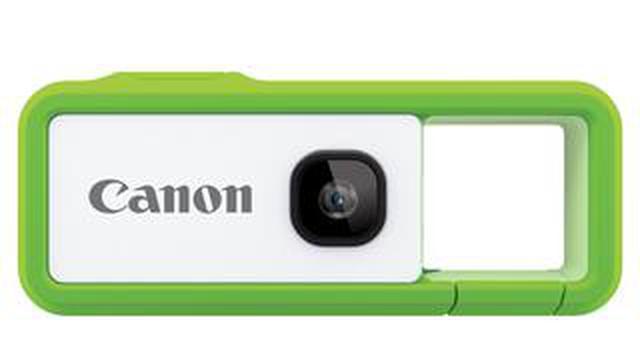 画像: キヤノンから新コンセプトのコンパクトデジカメ発表。 カラビナデザインの「iNSPiC REC」 12月下旬発売予定。