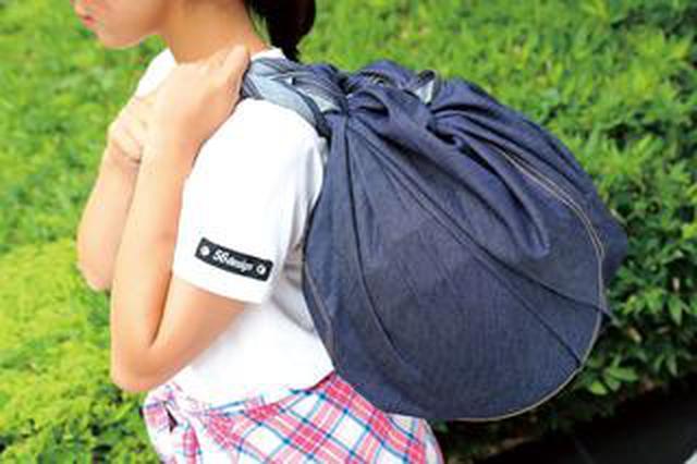 画像: ヘルメットバッグとしても便利!? 老舗ジーンズメーカーとのコラボで生まれたEDO-SHIKI「デニムふろしき」<ギアーズテスト>