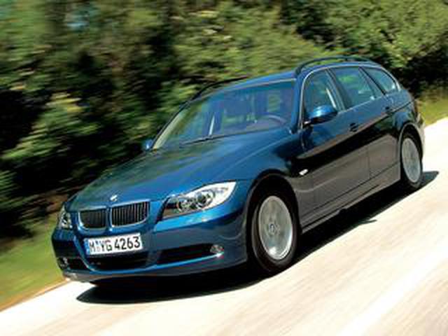 画像: 【ヒットの法則79】BMW3シリーズツーリング(E91型)は期待どおりの出来栄えだった