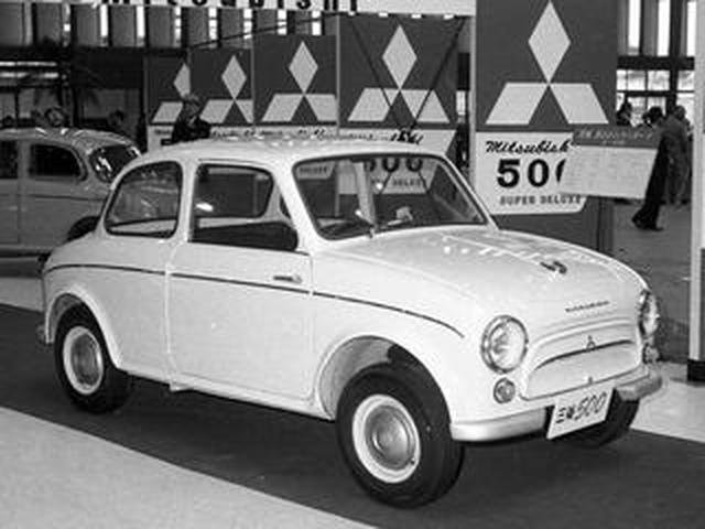 画像: 【昭和の名車110】三菱 500は三菱ブランドが初めて独自開発した乗用車だった