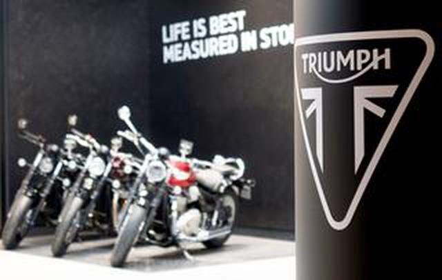 画像: 2019年に一番売れたトライアンフのバイクは何か? TRIUMPH TOKYOで聞いてきました!