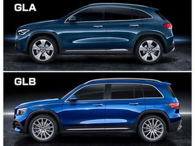 画像: メルセデス・ベンツの新型GLAが欧州で登場。そこでGLAとGLB、同門のSUVで比較してみた