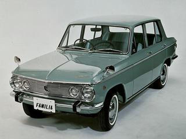 画像: 【昭和の名車 123】マツダ ファミリアは、商用車からスタートしてラインアップを展開した