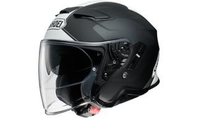 画像: SHOEIからインナーバイザー付きジェットヘルメット「J-CruiseII」のグラフィックモデル「ADAGIO」が登場