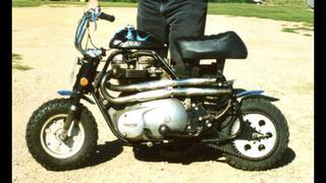 画像: [Honda] 体は小さくても、ハートはビッグ!? なカスタムバイクをご紹介します!! [Triumph]