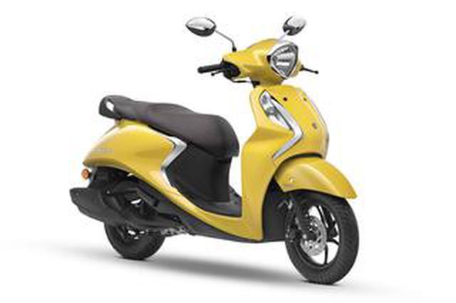 画像: ヤマハがファッションスクーター「Fascino」の2020年モデルを1月にインドで発売