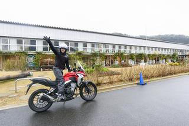 画像: ほぼ月刊「梅本まどかとオートバイ」vol.21 ホンダ 400X
