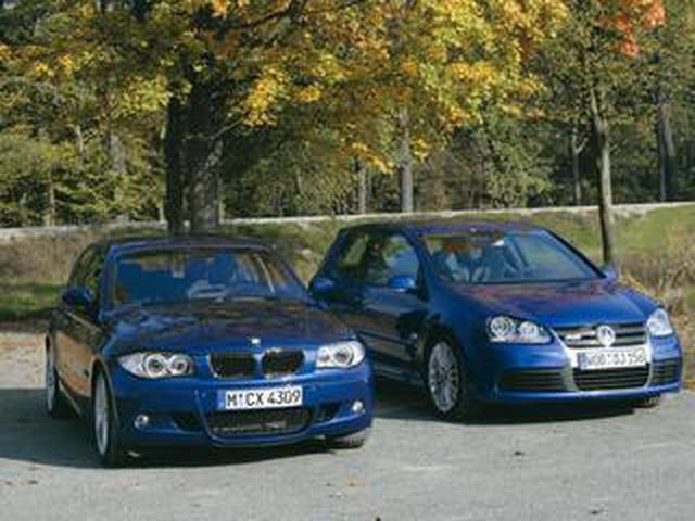 画像: 【ヒットの法則114】BMW130iとゴルフR32、走りに対する考え方の明らかな違い