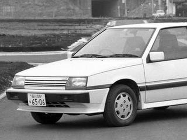 画像: 【昭和の名車 153】2代目ミラージュはECIターボを搭載してスポーティなイメージを高めた