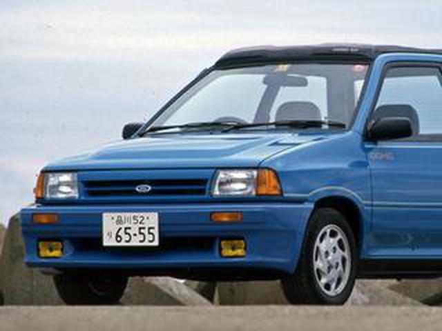画像: 【昭和の名車 170】フォード フェスティバはイメージリーダーの「GT」が注目を集めた