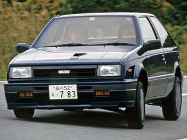 画像: 【昭和の名車 176】いすゞ ジェミニはホットなイルムシャーを設定しスポーツ性を高める