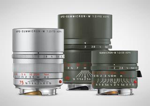 画像: ライカM用レンズが3種発売! 新カラー追加のライカ アポ・ズミクロンM f2/75mm ASPH.シルバー、 限定モデルのライカ ズミクロンM f2/28mm ASPH.サファリ&ライカ アポ・ズミクロンM f2/90mm ASPH.サファリ