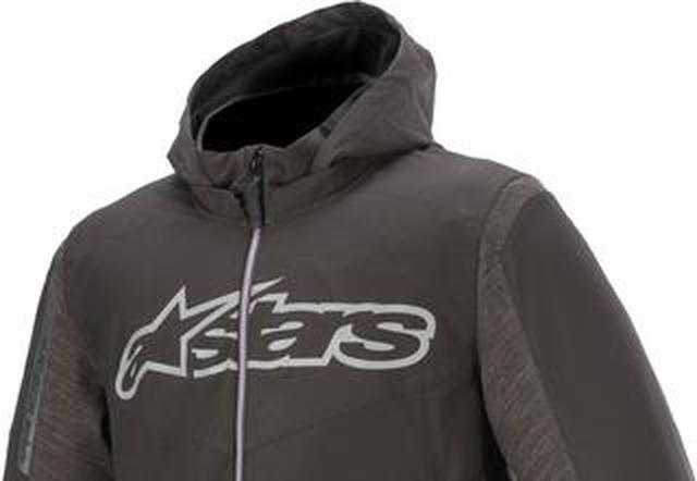 画像: 動きやすいソフトシェル素材! アルパインスターズからパーカタイプの新たなジャケットが登場