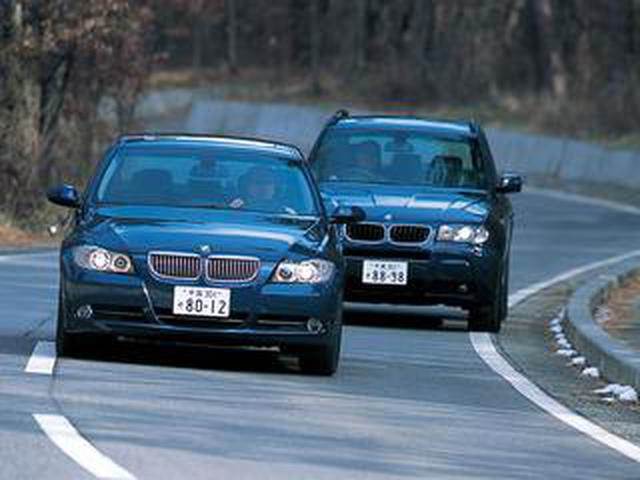 画像: 【ヒットの法則150】BMW X3 2.5iと330xiに見る、BMWの4WDへのスタンス