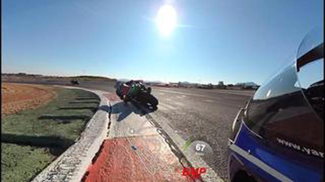 画像: [FIM EWC] 毎度お馴染み!? N.カネパのオンボード映像です。今回は2020年型ヤマハYZF-R1で、ちょっと珍しい? コースを走ってます!? [YART]