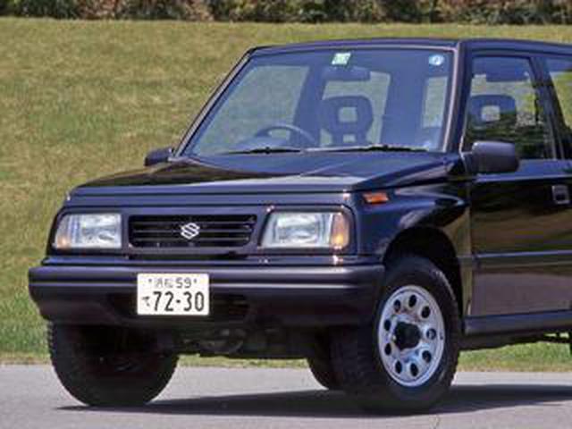 画像: 【昭和の名車 186】スズキ エスクードはオンロードも重視したライトクロカン4WD