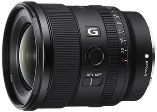 画像: フルサイズ対応の大口径超広角単焦点レンズ ソニーFE 20mm F1.8 G