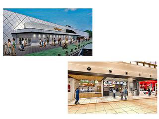 画像: 【高速道路情報】東名 海老名サービスエリアが2月27日に第一期リニューアルオープン!