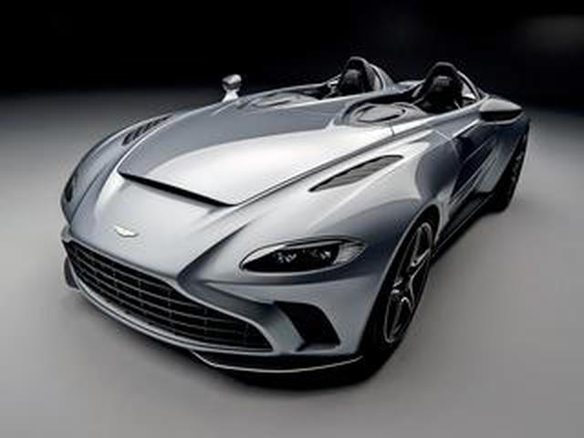 画像: アストンマーティン V12 スピードスターを公開。88台のみ製作されるリミテッド エディション