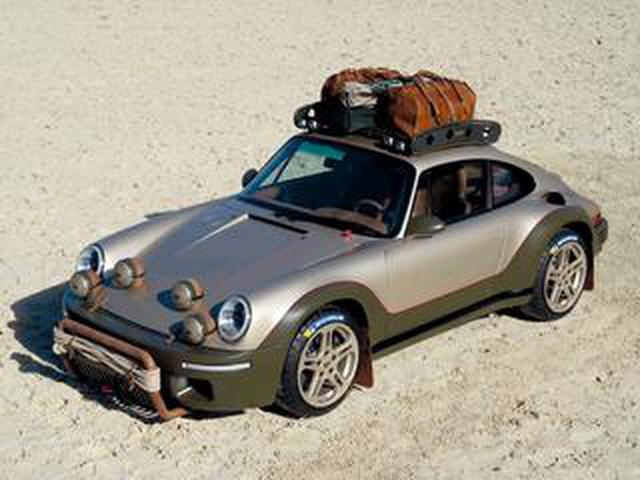 画像: 空冷ポルシェのラリー仕様? いいえ、RUFの「ロデオコンセプト」というオフロード仕様車です