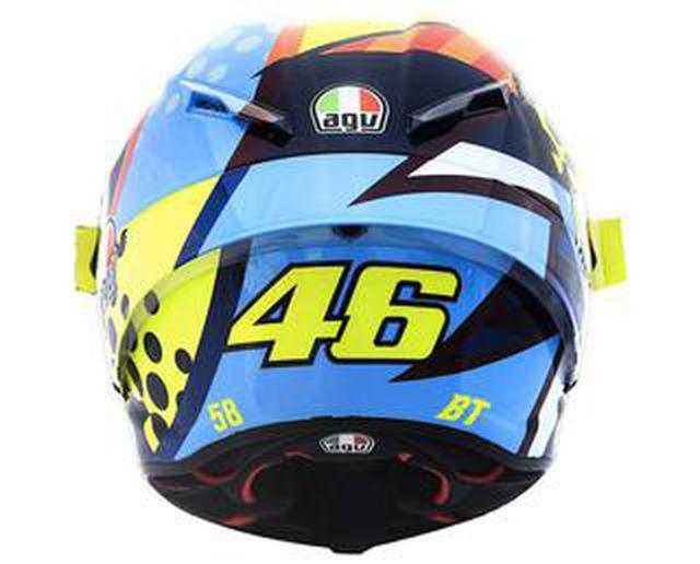 画像: 〈バレンティーノ・ロッシ〉最新レプリカヘルメット! AGVから「PISTA GP RR ウインターテスト 2020」が登場