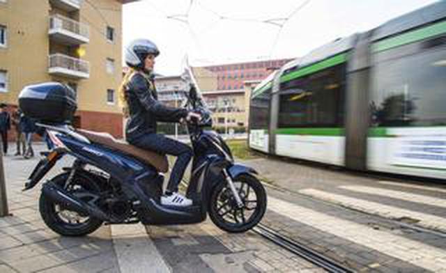 画像: 【新車】パニアケース&ハイスクリーンが標準装備でこの価格!? キムコのハイホイール・スクーター「Tersely S125/150」にニューカラーが登場!