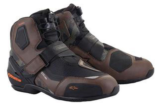 画像: 日本人の足にフィットする専用設計の透湿防水ライディングシューズ! アルパインスターズ「RAN DRYSTAR SHOE」新登場