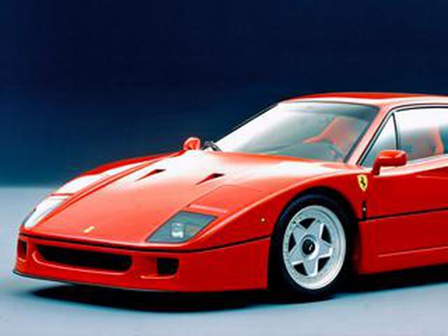 画像: 【スーパーカー年代記 032】F40は世界最速を誇ったフェラーリの40周年記念車だった