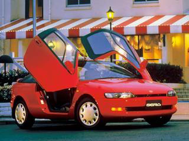 """画像: 【やんちゃなトヨタ】""""セラ""""はトヨタのやり過ぎた傑作車のトップランナー(その1)"""