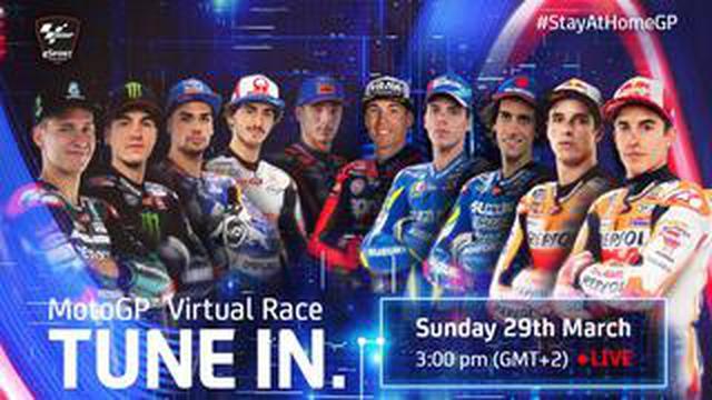 画像: 現役MotoGPライダー10選手が参加したゲームによる熱いバトル「MotoGP Virtual Race」が開催されました!