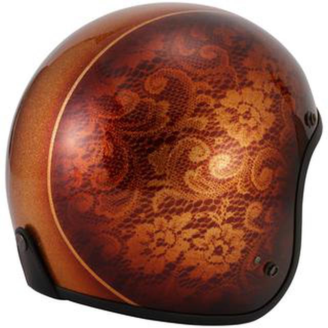 画像: キャンディペイントで仕上げた大人のグラフィック! RIDEZが「二キトーヘルメット」の限定モデルを4月1日に発売