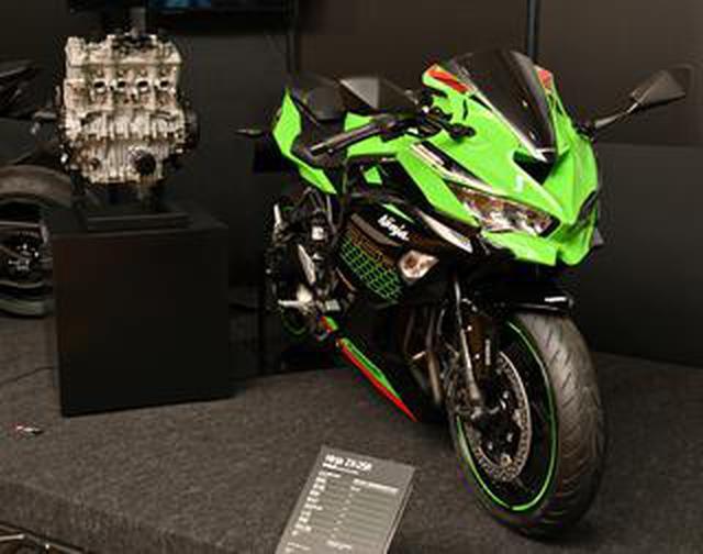 画像: カワサキ「Ninja ZX-25R」の250cc・4気筒エンジンの秘密。エンジン単体から見えてきたことを総まとめ!
