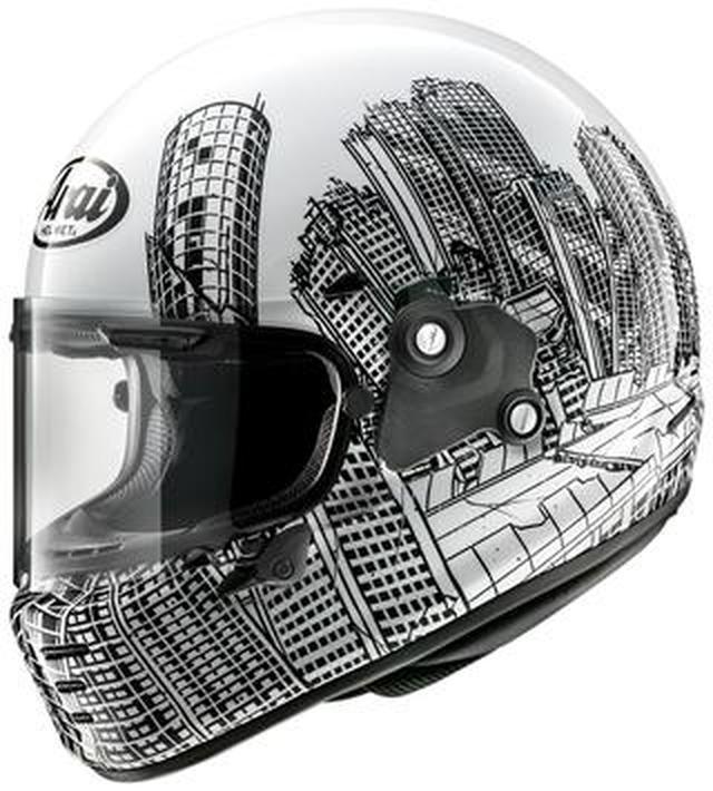 画像: 【おしゃれヘルメット】ロアーズが手掛けたアライ「ラパイドNEO」がアーティスティックすぎる!