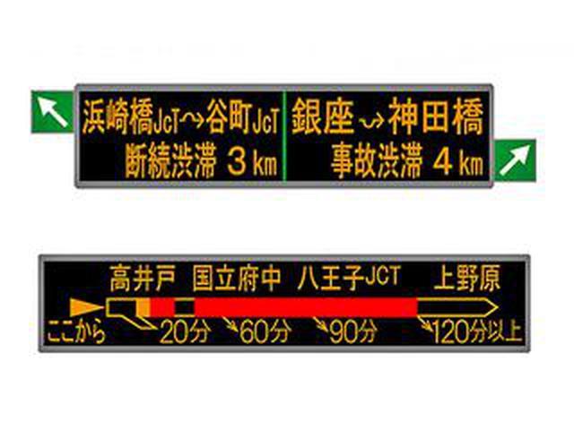 画像: 首都高が直感で情報を把握しやすい、新しい文字情報板の表示を開始した!