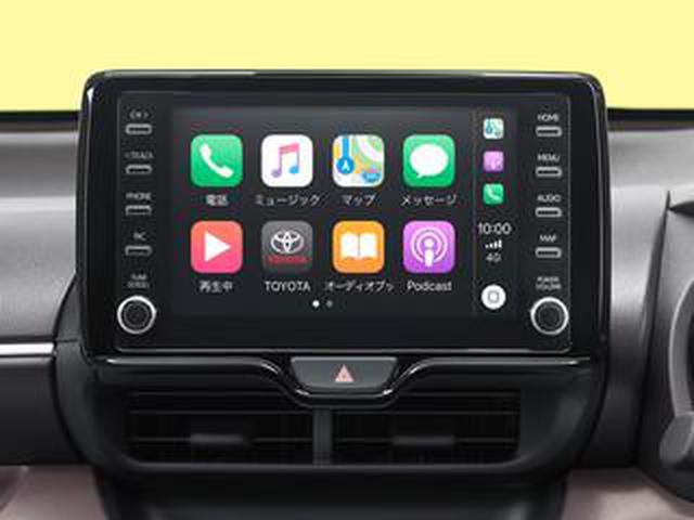 画像: トヨタが6月発売の新型車からディスプレイオーディオをApple CarPlayとAndroid Autoに標準対応