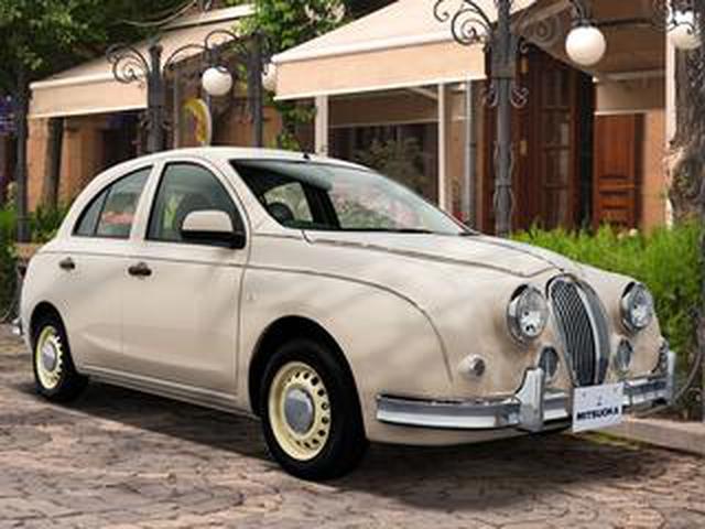 画像: ミツオカ ビュート/ビュートなでしこの限定車「カフェラテ」発表。可愛らしさや癒しがテーマ