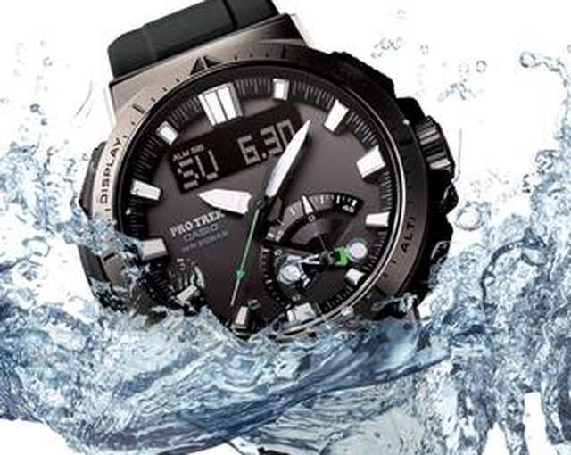 画像: 20気圧防水&アウトドアで役立つ機能が満載! プロトレックの新型ソーラー電波腕時計「PRW-70」はライダーとも好相性