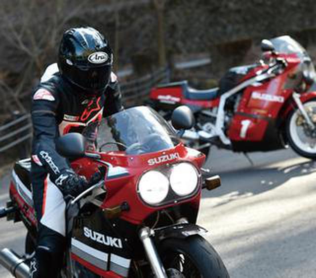 画像: 【速さの品格。】直4大型の革新「SUZUKI GSX-R750」<ミスター・バイクBG>