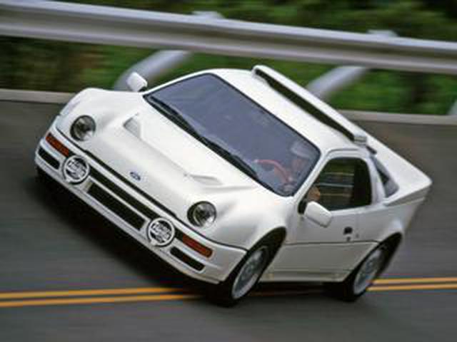 画像: 【MMアーカイブ】「フォード RS200」はラリーのために作られた生粋のグループBマシン