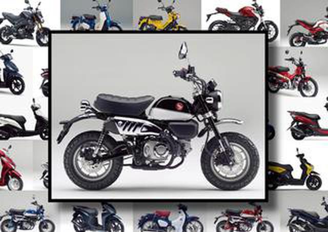 """画像: ホンダ「モンキー125/ABS」いま日本で買える""""原付二種モデル""""はコレだ! 【最新125cc大図鑑 Vol.002】"""