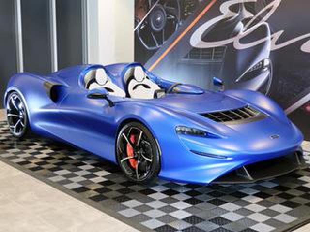画像: 【ニューモデル写真蔵】マクラーレンの新型ロードスター「エルバ」は世界で249台の限定モデル