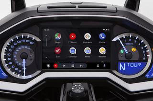 画像: バイクとスマホはセットの時代に突入か? Android端末もつなげられるようになったホンダ「ゴールドウイング」の新サービスに注目