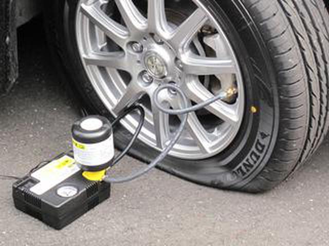 画像: 【くるま問答】最近のクルマにテンパータイヤはない。パンク修理キットをどう使う? 最高速は?